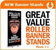 Great Value Banner Stands